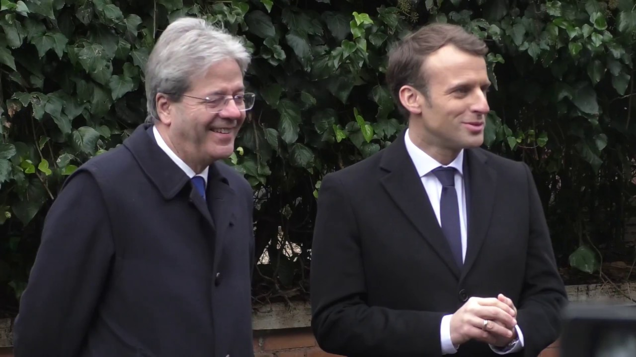 Macron a Roma per un nuovo trattato con l'Italia