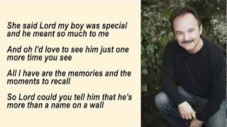 Jimmy Fortune - More Than A Name On A Wall with Lyrics
