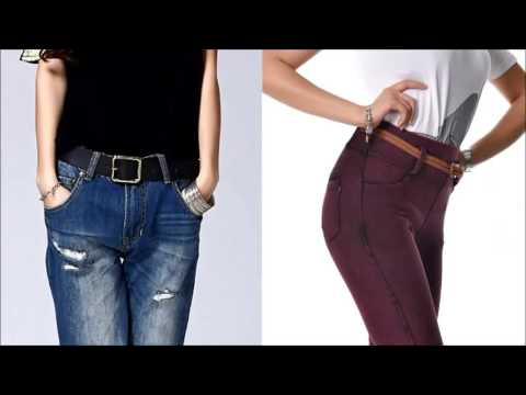 [NEW ARRIVAL] Slim Fit Jeans For Plus Size Malaysia Women