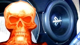 NUCLEAR BASS!! 4 15s on 13k!! CROSSFIRE AUDIO LOUD AF