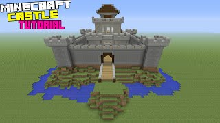 Minecraft Tutorial How To Make A Castle Minecraftvideos Tv