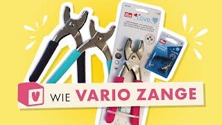V wie Vario Zange im Makerist Nählexikon - Powered by Prym