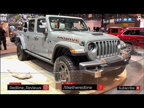2020 Jeep Gladiator Mojave – Redline: First Look – 2020 CAS