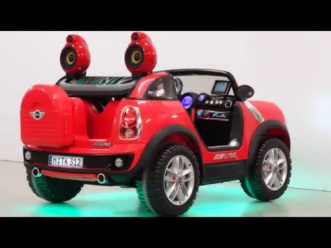Mini Beachcomber Kinder Elektroauto Tuning