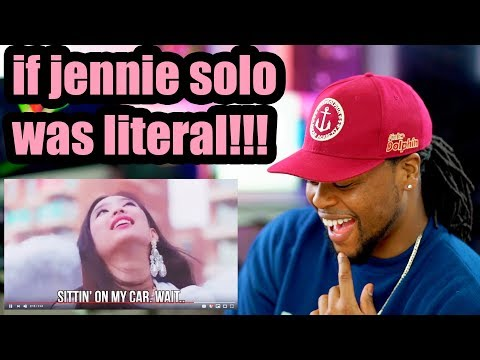 JENNIE- SOLO | if kpop songs were literal | Reaction!!!