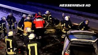 preview picture of video '18-Jährige Beifahrerin stirbt beim Unfall auf der B454 - 22.02.2013'