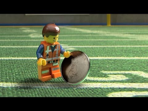 The Lego Movie Promo 'Puppy Bowl Coin Toss'