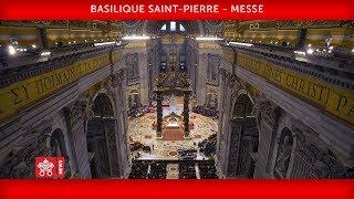 Pape François - Basilique Saint-Pierre - Messe pour les cardinaux et les évêques défunts 2018-11-03