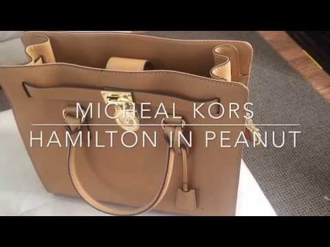 ♡ Michael Kors Review♡ : Large Hamilton tote♡
