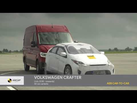 ANCAP tests the active safety in commercial vans