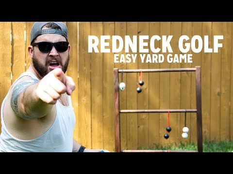 Outdoor Games - Redneck Golf DIY Build