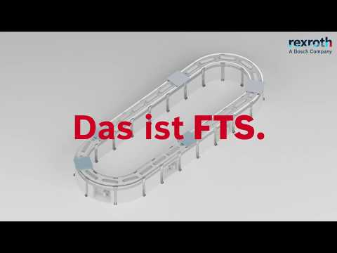 Bosch Rexroth - Flexibles Transportsystem FTS