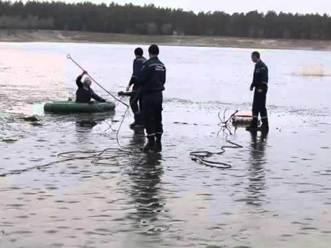 Луганська область  на озері під кригу провалилося 5 дітей