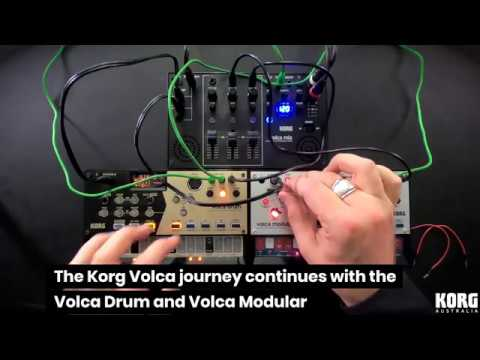 KORG: Volca Drum & Modular Demo & Performance