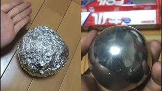 Too Satisfying.. Japanese are Polishing Foil Balls to Perfection. - Video Youtube