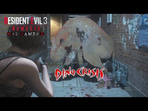Dino Crisis Remake  - Resident Evil 3 RE MOD