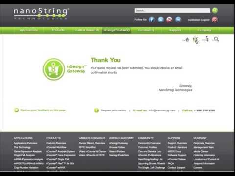 Nanostring Technologies Inc Training Videos