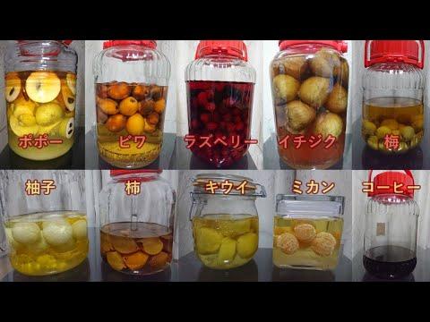 , title : 'あらゆる果実酒を作って比較してみた