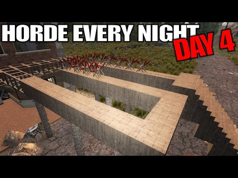 Can You Spot The FAIL in This Base? | 7 Days to Die | Horde Every Night Alpha 17 Gameplay | E04