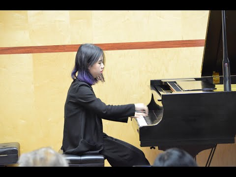 Ting's performance in YPLN Recital