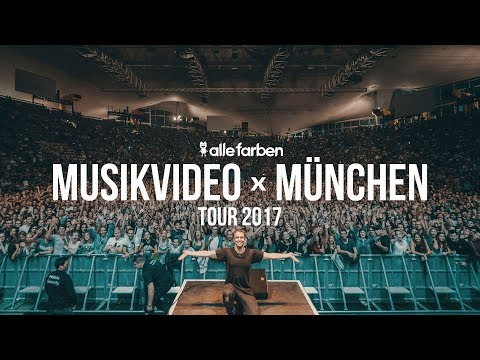 BEHIND THE SCENES - NEVER TOO LATE MUSICVIDEO x ROBIN SCHULZ TOUR MUNICH - ALLE FARBEN TOUR 2017