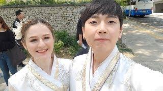 한국 VLOG : 한복입고 촬영하기 08.05.19