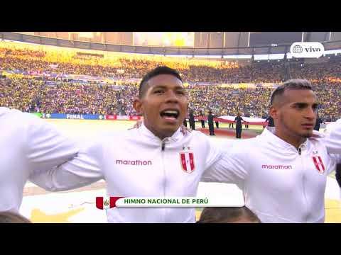 PERU VS BRASIL HD 1080P  HIMNO NACIONAL DE PERU - COPA AMERICA 2019