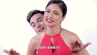 Kim Chiu and Xian Lim did this cute challenge!