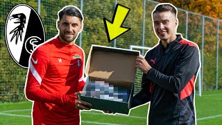 Ich überrasche Vincenzo Grifo mit neuen Fußballschuhen!