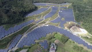 石巻の出力約14MWの太陽光発電所提供:トリナ・ソーラー・ジャパン・エナジー