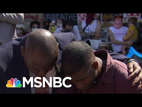 George Floyd's Son: 'No Man Or Woman Should Be Without Their Fathers' | Andrea Mitchell | MSNBC