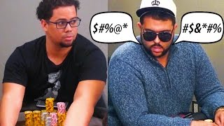 "Hashtag King, ""the biggest jerk in poker"" gets WRECKED for $20,000 ♠ Live at the Bike!"