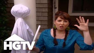 Outdoor Halloween Decorations-HGTV