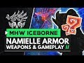 Monster Hunter World Iceborne | Namielle Armor, Weapons & Gameplay