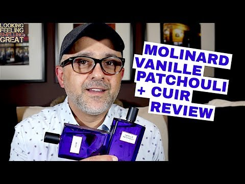Molinard Vanille Patchouli + Cuir Review | Win A Bottle Of Each (USA Giveaway)