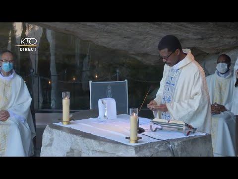 Messe de 10h à Lourdes du 21 juin 2021