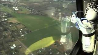 Fly along with air ambulance helicopter crew