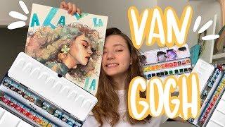 NEW Watercolor Van Gogh| Обзор Акварели Ван Гог