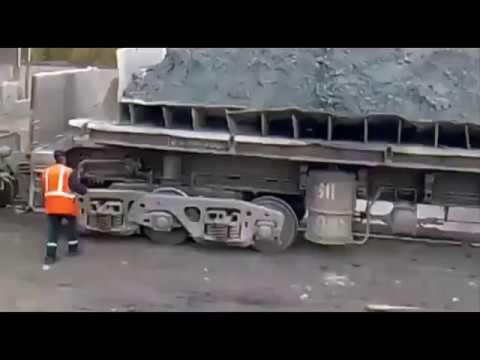 ДУМПКАР Неудачная выгрузка --- The Failed dump cars unloading