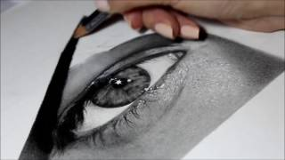 Drawing Pencil Hyperrealism – Time-lapse – GIADA – Silvia Pagano Art