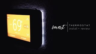 Emerson Sensi Touch Wi-Fi Thermostat Install + Review
