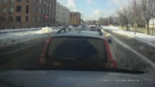 Дорожный учитель наказал сам себя :)