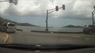 preview picture of video 'Driving in the US Virgin Islands - Northside to Bolongo Bay'