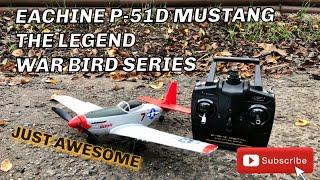 Eachine P-51D Mustang The Best Mini 4ch Aerobatic RC Plane