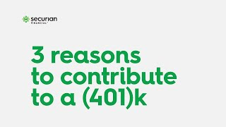 Why contribute to a 401k