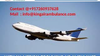 Most Affordable King Air Ambulance Service in Lucknow and Varanasi