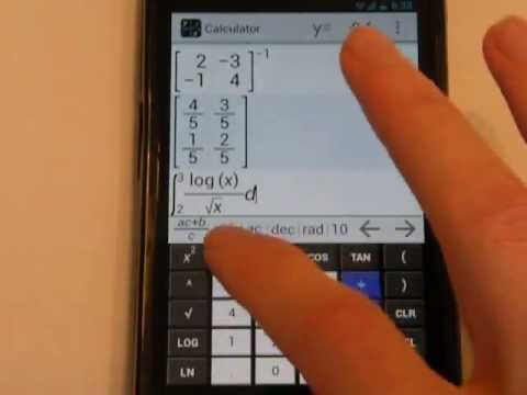 Video of MathAlly Graphing Calculator