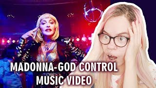 MADONNA   GOD CONTROL (MUSIC VIDEO REACTION) | Sisley Reacts