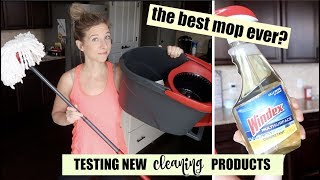 IS THIS THE BEST MOP EVER?! | SHOPPING FOR CLEANING PRODUCTS & PUTTING THEM TO THE TEST