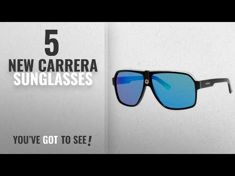 Top 10 Carrera Sunglasses [ Winter 2018 ]: Carrera Carrera 33/S CA33S Aviator Sunglasses, Black